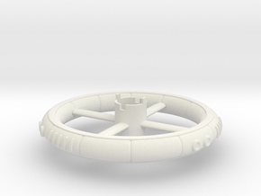 B.Y.O.S.S. Ring Round in White Natural Versatile Plastic