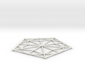 016: Generalized quadrangle of order 2 in White Natural Versatile Plastic