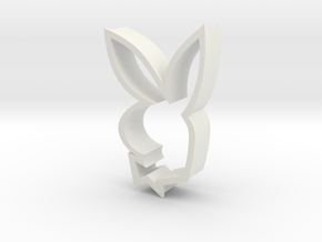 Iconic Bunny in White Natural Versatile Plastic