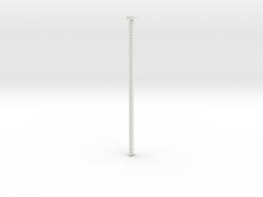 2.65mm belt in White Natural Versatile Plastic