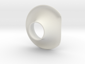 Cornet_40mm in White Strong & Flexible