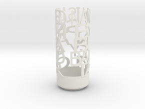 Light Poem mom in White Natural Versatile Plastic