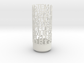 Light Poem terino in White Natural Versatile Plastic