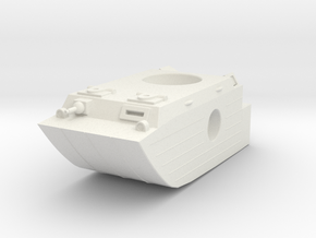 AWA amphib mech hull in White Natural Versatile Plastic