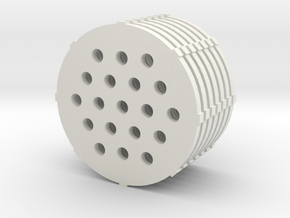 stack in White Natural Versatile Plastic