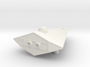 Scout (landed, no base)  in White Natural Versatile Plastic
