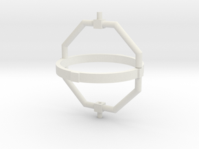 Gyroscope part 2 in White Natural Versatile Plastic