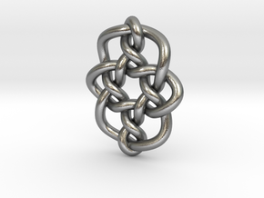 Celtic Knots 08 (small) in Natural Silver