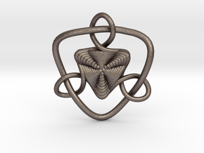 Celtic Knots 09 (small) in Stainless Steel