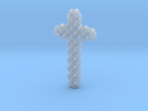 Celtic Knots 06 (small) in Smooth Fine Detail Plastic
