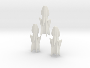 Illgari Corsair class Light Cruiser in White Natural Versatile Plastic