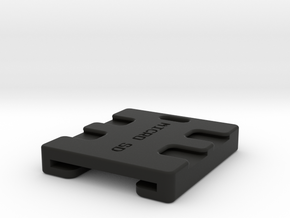 SD and Micro SD Key Fob in Black Strong & Flexible