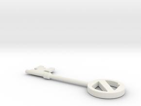 Return to Oz Key in White Strong & Flexible