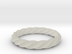 twist ring in Transparent Acrylic