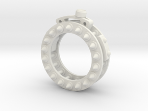 Mechanical Wheel Ring in White Strong & Flexible