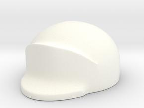 American Leather Helmet 18th century in White Processed Versatile Plastic