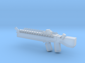 Alien Machine Gun in Smooth Fine Detail Plastic