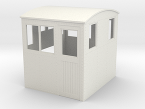On30 conversion cab side entry for endcab loco in White Natural Versatile Plastic