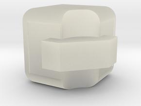 3x3x3 Edge Piece in Transparent Acrylic