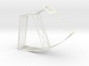Ringlokschuppen Spur Z 1:220 Teil1 in White Natural Versatile Plastic