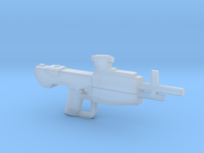 Scoped Marksmanship Rifle in Smooth Fine Detail Plastic