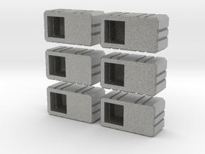 Combiner Twin Sockets in Metallic Plastic