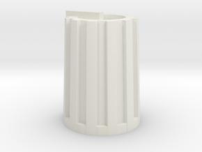 Korg MS2000 knob in White Natural Versatile Plastic