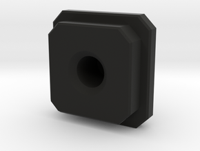 connector block in Black Natural Versatile Plastic