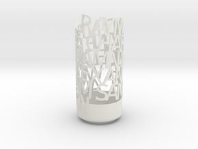 Light Poem tahoma in White Natural Versatile Plastic