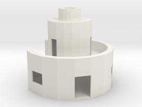 Double Magnus in White Natural Versatile Plastic