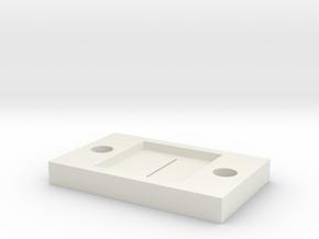optical slit 0.2 in White Natural Versatile Plastic