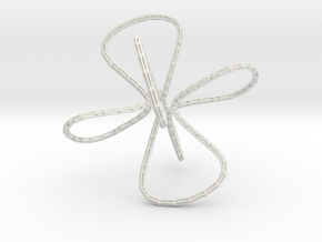 Chains in White Natural Versatile Plastic