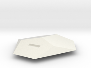 Asp- with window in White Natural Versatile Plastic
