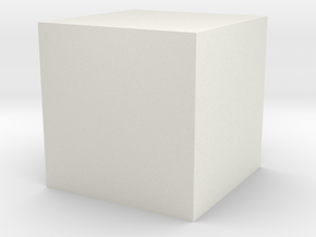 colorcube in White Natural Versatile Plastic