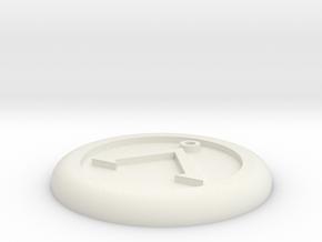 Generic base Ø30mm - Å symbol in White Strong & Flexible