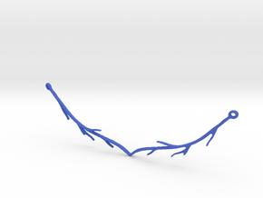 Serleena's Necklace in Blue Processed Versatile Plastic