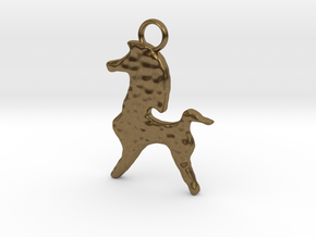 Bucephalus Horse Pendant in Natural Bronze