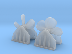 Propeller Load for Flat Car - Z Scale in Smooth Fine Detail Plastic
