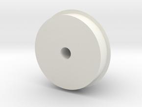 funnelback in White Natural Versatile Plastic