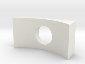 rail adapter in White Natural Versatile Plastic