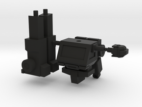 Ironhide minifigure in Black Strong & Flexible