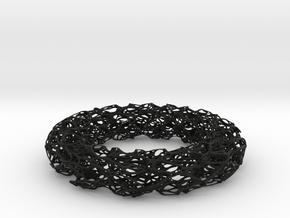 Scribbled Bracelet in Black Strong & Flexible