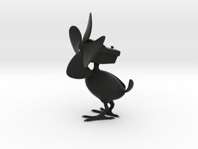 Deskfan Bird in Black Strong & Flexible