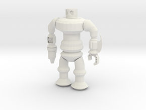 Robotspline Power in White Natural Versatile Plastic