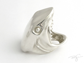 FINGER FOOD in Polished Silver