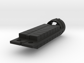 Zyphon Box Class Freighter in Black Strong & Flexible
