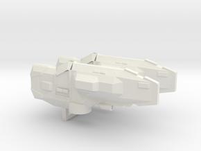 USF Frigate x 2 in White Natural Versatile Plastic
