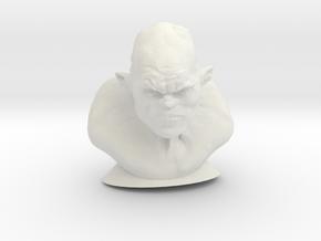 The Ogre in White Natural Versatile Plastic