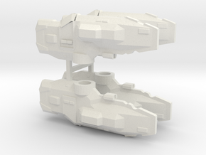 USF Frigate x 4 in White Natural Versatile Plastic