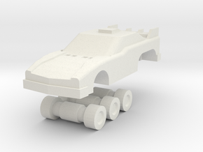 Scamper Mini-car in White Strong & Flexible